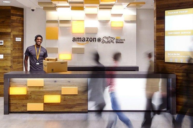 Amazon Pickup Points Spread Across Major College Campuses