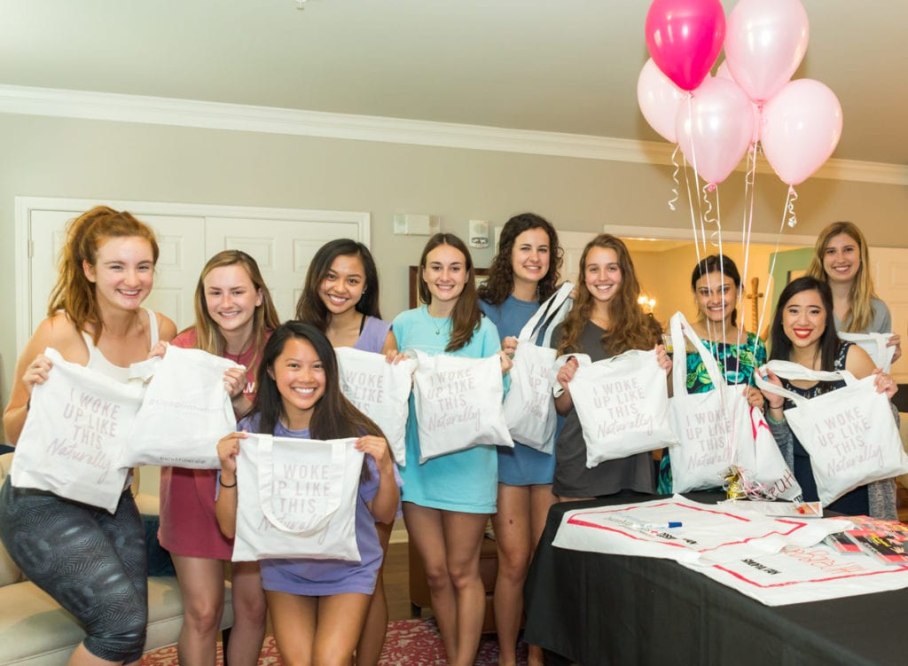 Sorority Group Marketing Event